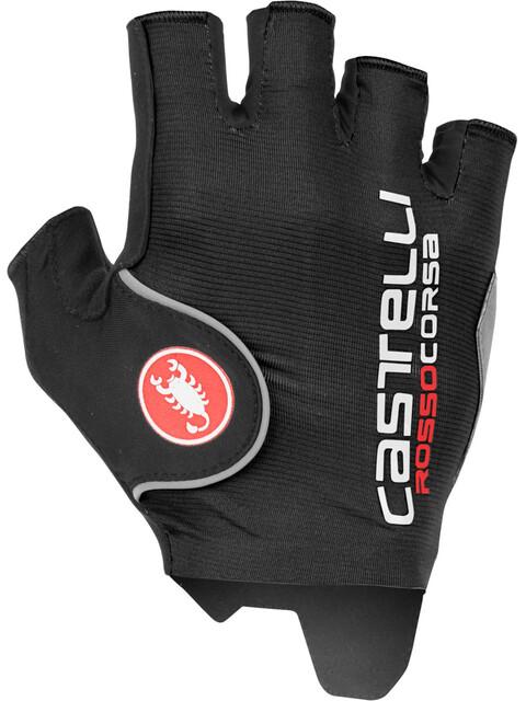 Castelli Rosso Corsa Pro Cykelhandsker Herrer sort